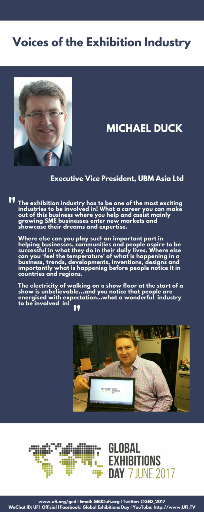 Duck_Vice President_UBM_Voices of the Exhibition Industry